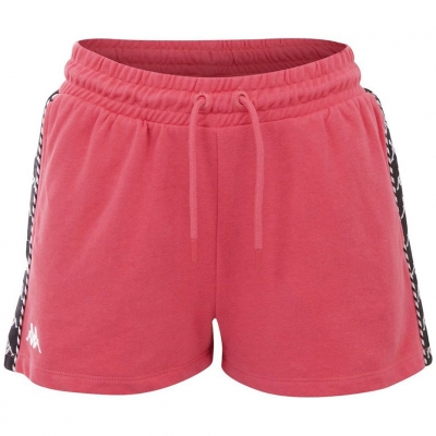 Pantaloni scurti roz Kappa IRISHA 309076 18-2120 femei