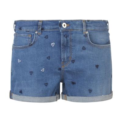 Pantaloni scurti Scotch and Soda pentru Femei positive albastru