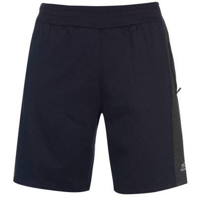 Pantaloni scurti Skechers Panelled pentru Barbati bleumarin