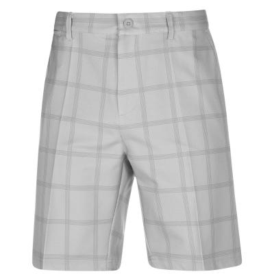 Pantaloni scurti Slazenger Chequered pentru Barbati gri alb chk