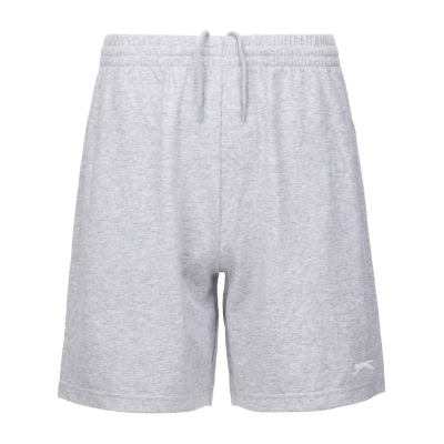 Pantaloni scurti Slazenger Jersey pentru Barbati gri