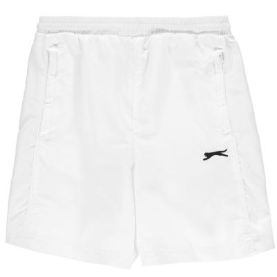Pantaloni scurti Slazenger Woven pentru baietei alb