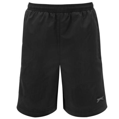 Pantaloni scurti Slazenger Woven pentru baietei negru
