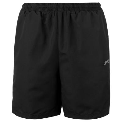 Pantaloni scurti Slazenger Woven pentru Barbati negru