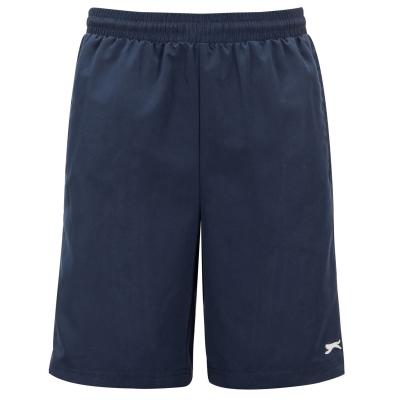Pantaloni scurti Slazenger Woven pentru Barbati bleumarin