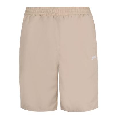 Pantaloni scurti Slazenger Woven pentru Barbati bej