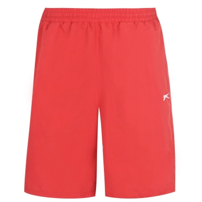 Pantaloni scurti Slazenger Woven pentru Barbati rosu