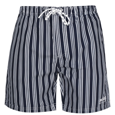 Pantaloni scurti SoulCal bleumarin dungi