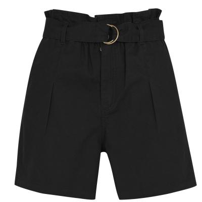 Pantaloni scurti SoulCal bumbac negru