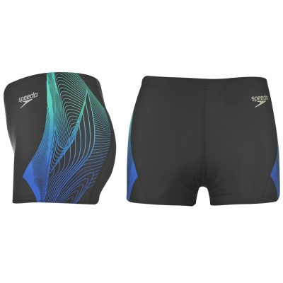 Pantaloni scurti Speedo PC Aqua pentru Barbati albastru tile
