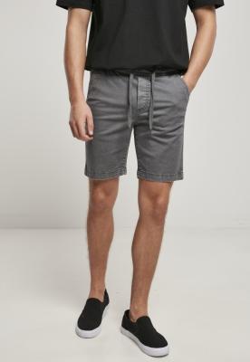 Pantaloni scurti sport Stretch Twill gri Urban Classics