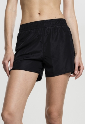 Pantaloni scurti Sports pentru Femei negru Urban Classics