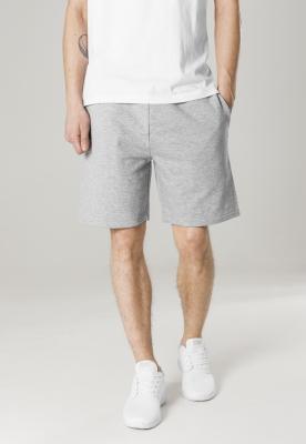 Pantaloni scurti talie elastica gri Urban Classics