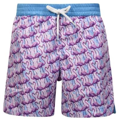 Pantaloni scurti THOMAS ROYALL Flamingo pentru baieti pentru Copii roz