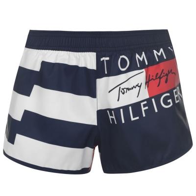 Pantaloni scurti Tommy Bodywear 85 Board rosu glare xl7