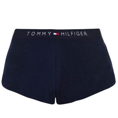 Pantaloni scurti Tommy Bodywear Logo Board gri albastru cun