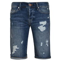 Pantaloni scurti True Religion denim albastru