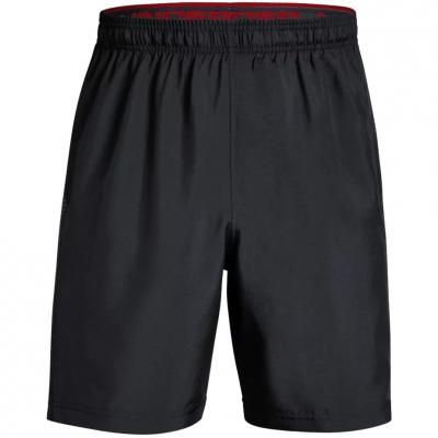 Pantaloni scurti Under Armor Woven imprimeu Graphic negru 1309651 003 pentru Barbati