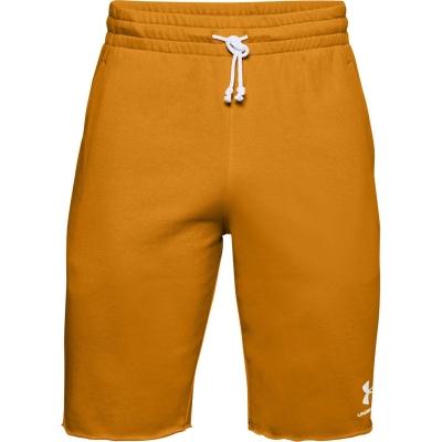Pantaloni scurti Under Armour Armour Sportstyle Terry pentru Barbati galben