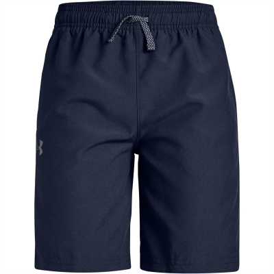 Pantaloni scurti Under Armour Core Woven pentru copii bleumarin