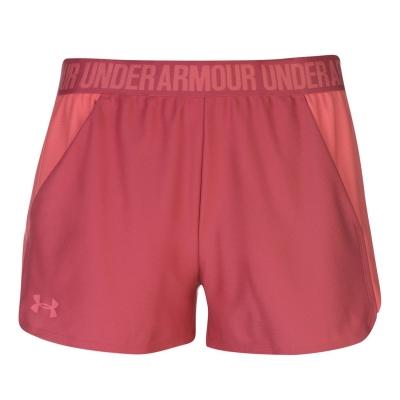 Pantaloni scurti Under Armour Play Up 2 pentru Femei impulse roz