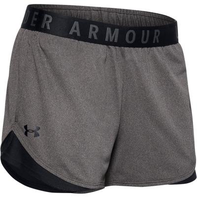 Pantaloni scurti Under Armour Play Up 2 pentru Femei gri carbon deschis