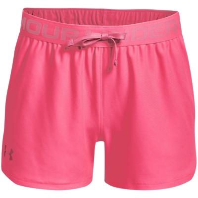 Pantaloni scurti Under Armour Play Up pentru fetite rosu