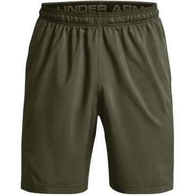 Pantaloni scurti Under Armour Woven imprimeu Graphic pentru Barbati albastru od verde