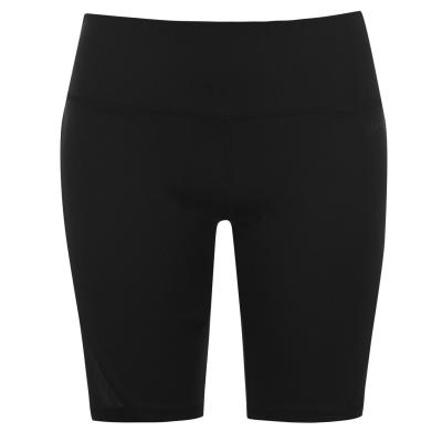 Pantaloni scurti USA Pro Mid Rise plasa ciclism negru