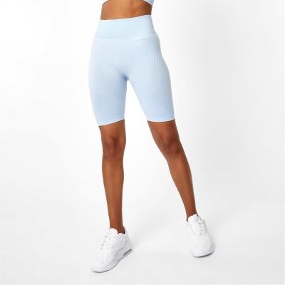 Pantaloni scurti USA Pro Seamless Longline ciclism brunera albastru