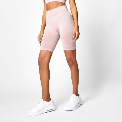 Pantaloni scurti USA Pro Seamless Longline ciclism roz