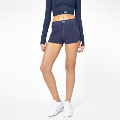 Pantaloni scurti USA Pro x Courtney negru Fitness Energy bleumarin