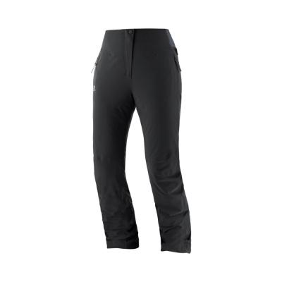 Pantaloni Ski Femei WARM AMBITION PANT W Negru Salomon