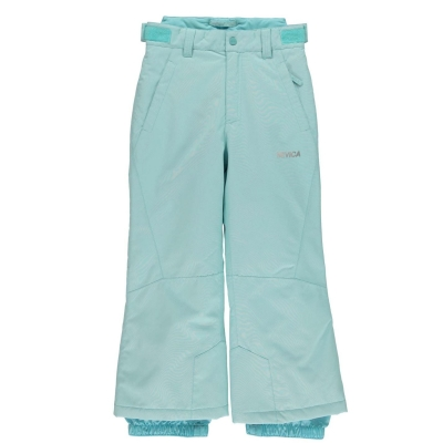 Pantaloni Ski Nevica Meribel pentru fetite albastru