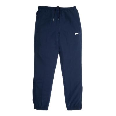 Pantaloni Slazenger cu mansete Woven Juniors bleumarin