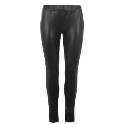 Pantaloni Sofie Schnoor piele ecologica negru