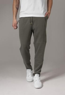 Pantaloni sport conici Interlock oliv Urban Classics