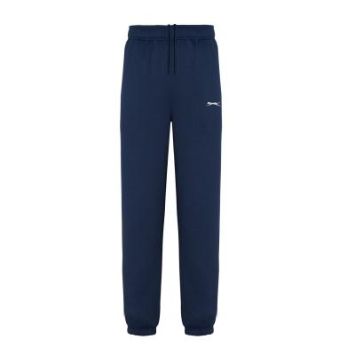 Pantaloni sport cu mansete Slazenger pentru Barbati bleumarin