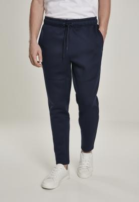 Pantaloni sport Cut and Sew bleumarin Urban Classics