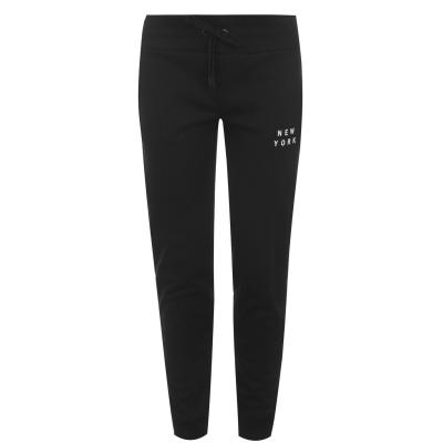 Pantaloni trening DKNY DKNY Sport Flock negru