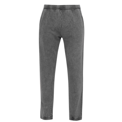 Pantaloni Sport Fabric Unisex washed negru