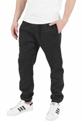 Pantaloni de trening melange gri carbune Urban Classics