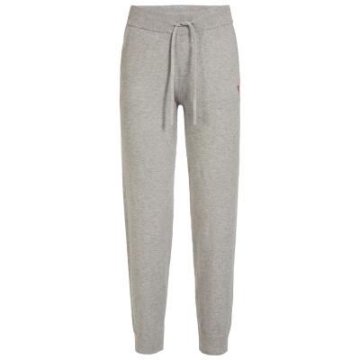 Pantaloni sport Guess Basic gri h905