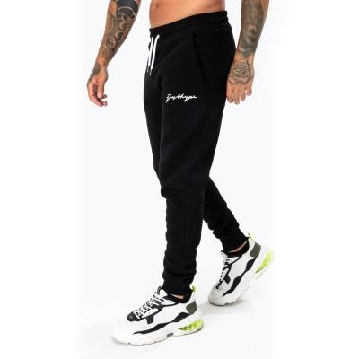 Pantaloni jogging Hype Scribble Logo pentru Barbati negru