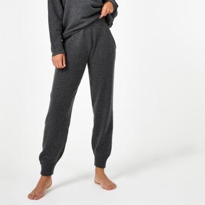 Pantaloni sport Jack Wills Lounge tricot gri carbune