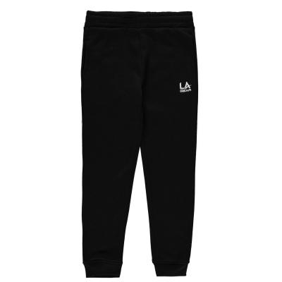 Pantaloni Sport LA Gear cu mansete pentru fete negru
