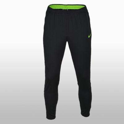 Pantaloni sport negru cu verde Nike Dry Academy Barbati