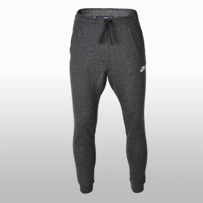 Pantaloni sport bumbac gri Nike M Nsw Jersey Club 804461-071 Barbati