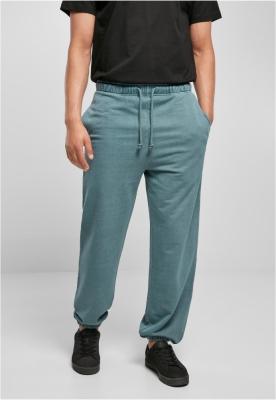 Pantaloni sport Overdyed albastru Urban Classics