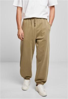 Pantaloni sport Overdyed kaki Urban Classics